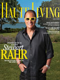 Cover for magazine Haute Living <br><i>USA</i>