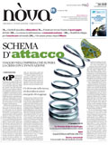 Cover for magazine Il Sole 24 Ore - Nova <br><i>Italy</i>