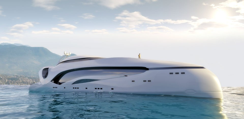 Oculus,Tangram 3DS,Yacht visualization, Computer rendering